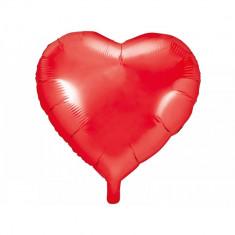 Balon folie inima rosie, 61cm
