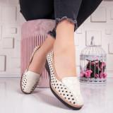 Pantofi dama cu platforma bej Igonia