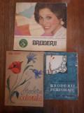 Lot 3 carti despre Broderii / R4P3S, Alta editura