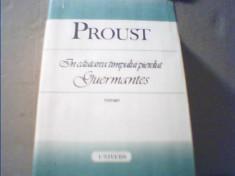 Proust - GUERMANTES { din ' In cautarea timpului pierdut ' } / 1989 foto
