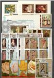 Ajman.Lot peste 160 buc. timbre serii si dep.+155 buc. colite stampilate DL.1, Asia