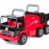 Masinuta premergator camion Kamaz RideOn, negru