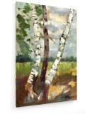 Cumpara ieftin Tablou pe panza (canvas) - Karl Hagemeister - Birch Trees - Painting 1880