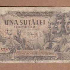 Romania - 100 Lei 1947 - 5 Decembrie