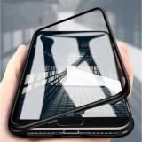 Husa Samsung Galaxy S9 Plus Magnetica MyStyle Black spate de sticla securizata premium