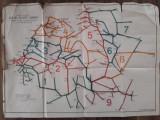 Harta CFR interbelica regalista