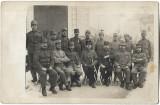 B2238 Subofiteri austro-ungari sabii decoratii snur specialist poza veche