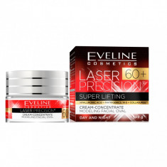 Crema de fata, Eveline Cosmetics, Laser Precision Super Lifting, SPF 8, 60+, 50 ml