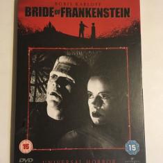 Boris Karloff - Bride of Frankenstein (1 DVD original) - Stare foarte bună!