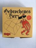 Joc puzzle lemn Broken Heart - Haba, Germania, complet