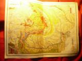 Harta Geologica Romaniei Mari- Inst.Cartogr.Unirea Brasov 1923 ,dim.=41x30cm