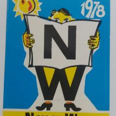 CCO 1978 - CALENDAR DE COLECTIE - STRAIN - GERMANIA - ANUL 1978