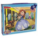 Puzzle in Servieta Sofia (100 Piese), Disney