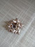 Pandantiv din argint in forma de trandafir