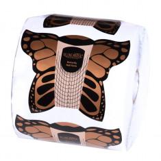 Sabloane Constructie Unghii LUXORISE Fluture, 500 buc