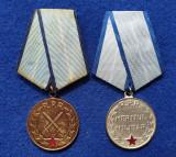 SET 2 Medalii Militare - Decoratie - perioada RPR - Republica Populara Romana