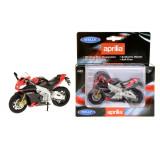 Macheta motocicleta Aprilia RSV 4 Scara 1:18 Welly
