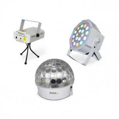 Ibiza BAT-KIT, set efecte de iluminare, ASTRO EFECT, LASER FIREFLY, Reflector PAR