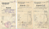 3 bucati Recepisa Uzina electrica Orastie 1937-1939
