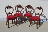 Set 4 scaune neo-rococo