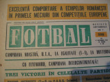 Revista Fotbal nr.225/17 septembrie 1970-UTA-Feyenord 1-1