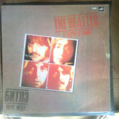 Vinil (vinyl) - The Beatles - A Taste of Honey (Melodiya, URSS)