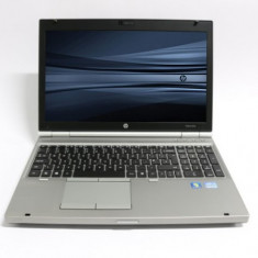 Laptop HP EliteBook 8570p, Intel Core i7 Gen 3 3740QM, 2.7 GHz, 4 GB DDR3, DVDRW, WI-FI, Display 15.6inch 1366 by 768