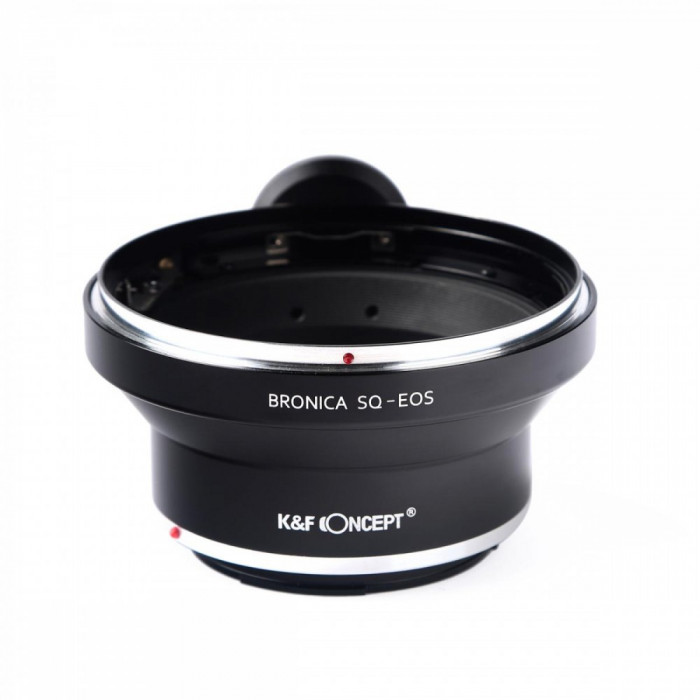 K&F Concept Bronica SQ-EOS adaptor montura de la Bronica SQ la Canon EOS cu adaptor pentru trepied KF06.136