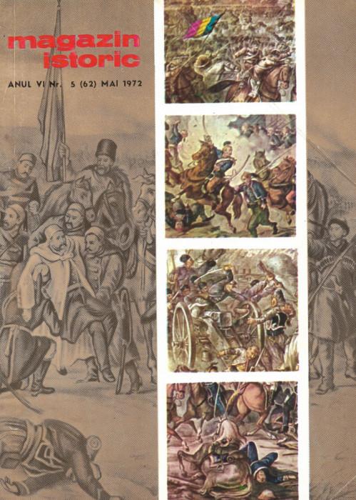 Magazin Istoric - anul 6 - nr. 5 (62) - mai 1972 (C190)