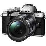 Aparat foto Mirrorless Olympus E-M10 Mark III 16.1 Mpx Silver Kit EZ-M 14-150mm IIR Kit Black