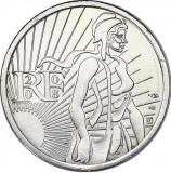 Moneda jubiliara FRANTA - 5 EURO 2008 - 10g Ag – Semanatoarea - aUNC, Europa, Argint