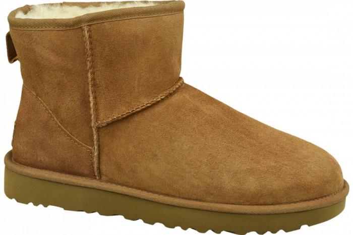Pantofi de iarna UGG Classic Mini II 1016222-CHE pentru Femei
