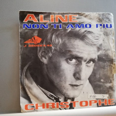 "Christophe – Aline/Non Ti Amo Piu (1962/Vogue/France)- VINIL/""7 Single/"