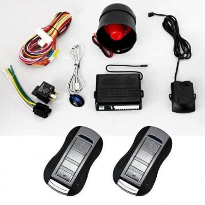 Alarma auto K211 cu 2 telecomenzi PREMIUM foto