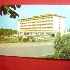 Ilustrata Deva - Hotel Rusca anii '60, Necirculata, Printata