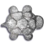 Cumpara ieftin Nisip Kinetic Metale Si Minerale Stralucitoare Argintiu