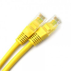 Patchcord Spacer UTP Cat5e 1m Yellow