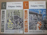 ENIGMA OTILIEI VOL.1-2-G. CALINESCU