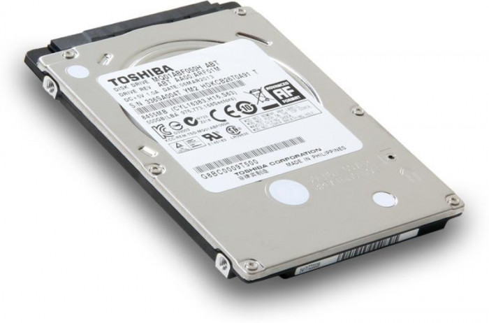 Hard Disk Laptop Toshiba MQ01ABF050, 500GB, 5400 rpm, 8MB, SATA 3