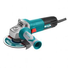 Polizor unghiular, 115 mm, 950 W, cu maner auxiliar, albastru, YTGT-1091156