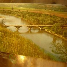 Ilustrata Lunca Siretului la Racatau ,  anii '70