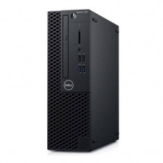 Sistem desktop Dell OptiPlex 3060 SFF Intel Core i3-8100 8GB DDR4 256GB SSD Linux Black 3Yr BOS