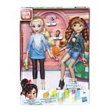 Set Disney papusi printese Elsa si Anna, Hasbro