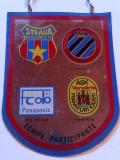 Fanion fotbal Cupa Steaua Bucuresti (04-05.08.1987) starea care se vede