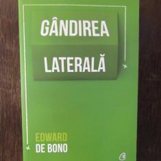 Gandirea laterala - Edward de Bono, Curtea Veche, 2019