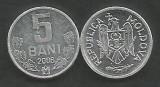 MOLDOVA 5 BANI 2006 [1] a UNC , livrare in cartonas, Europa, Aluminiu