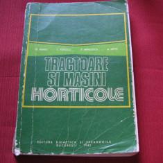Tractoare si masini agricole - Tr. Neagu, T. Popescu