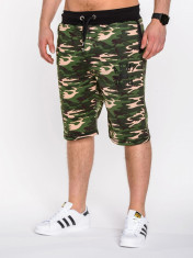 Pantaloni scurti pentru barbati, army, stil militar, camuflaj - w001 foto