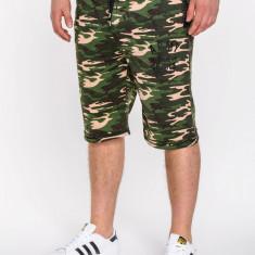 Pantaloni scurti pentru barbati army stil militar camuflaj w001