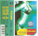 Caseta -House Vibes-, originala, holograma: Scooter, Sylver, Nightlife